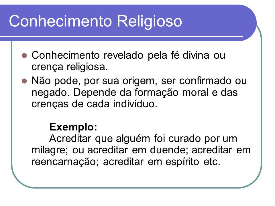 Conhecimento Religioso