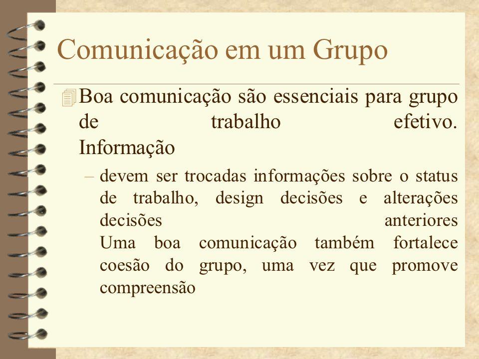 Comunicação em um Grupo