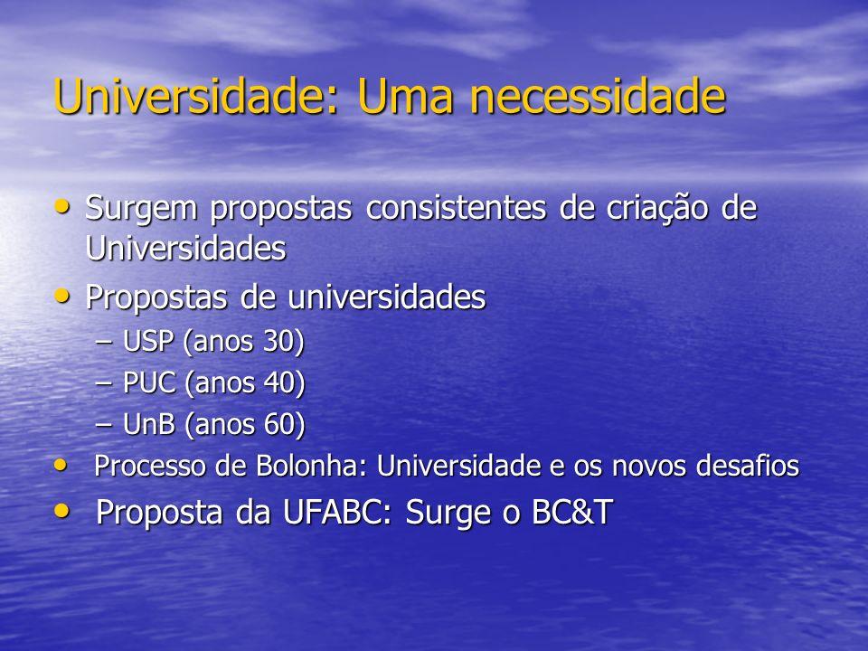 Universidade: Uma necessidade