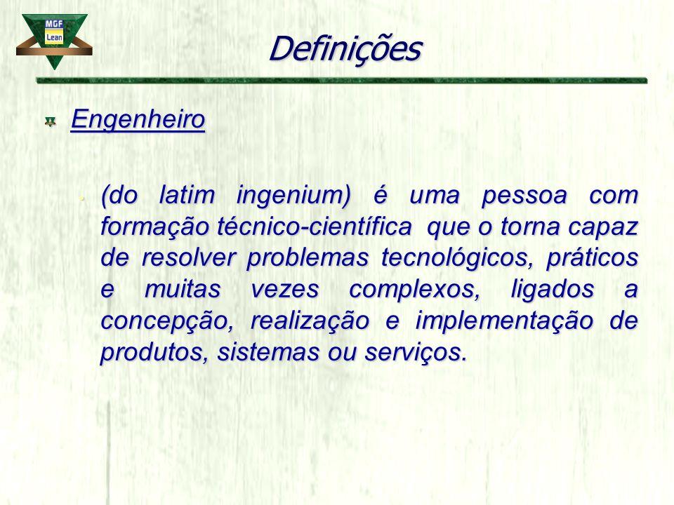 Definições Engenheiro