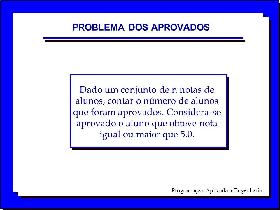 PROBLEMA DOS APROVADOS