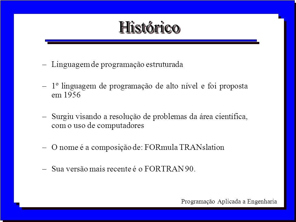 Histórico Linguagem de programação estruturada