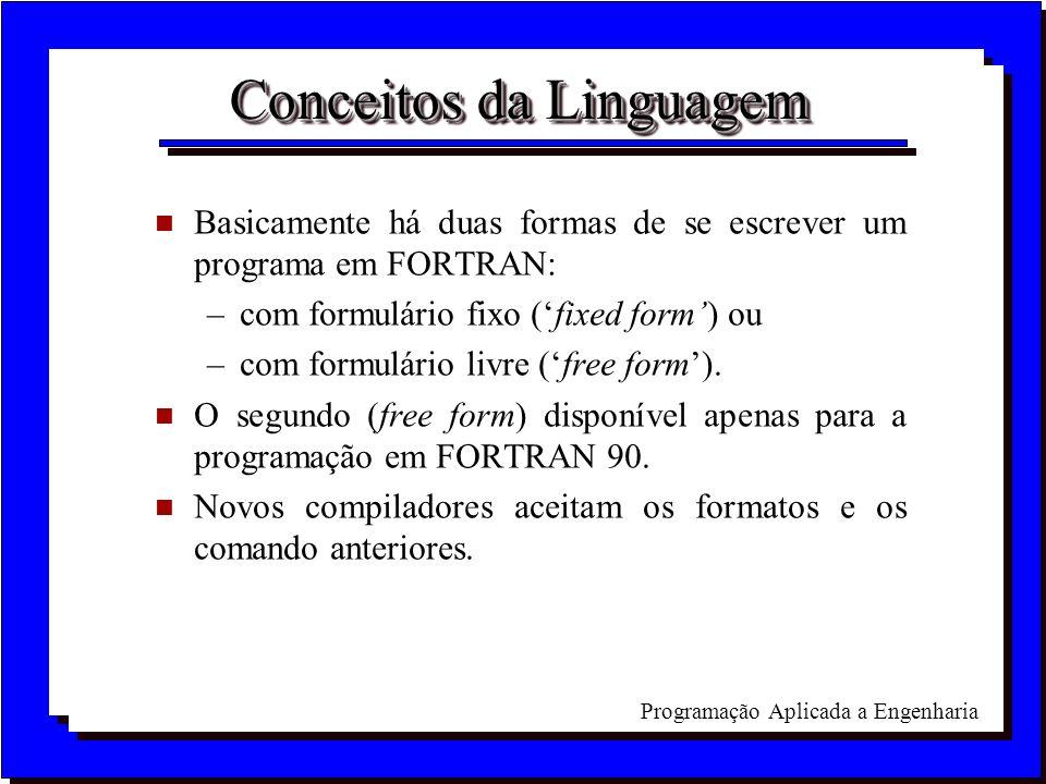 Conceitos da Linguagem