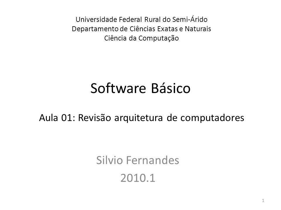 Software Básico Silvio Fernandes 2010.1