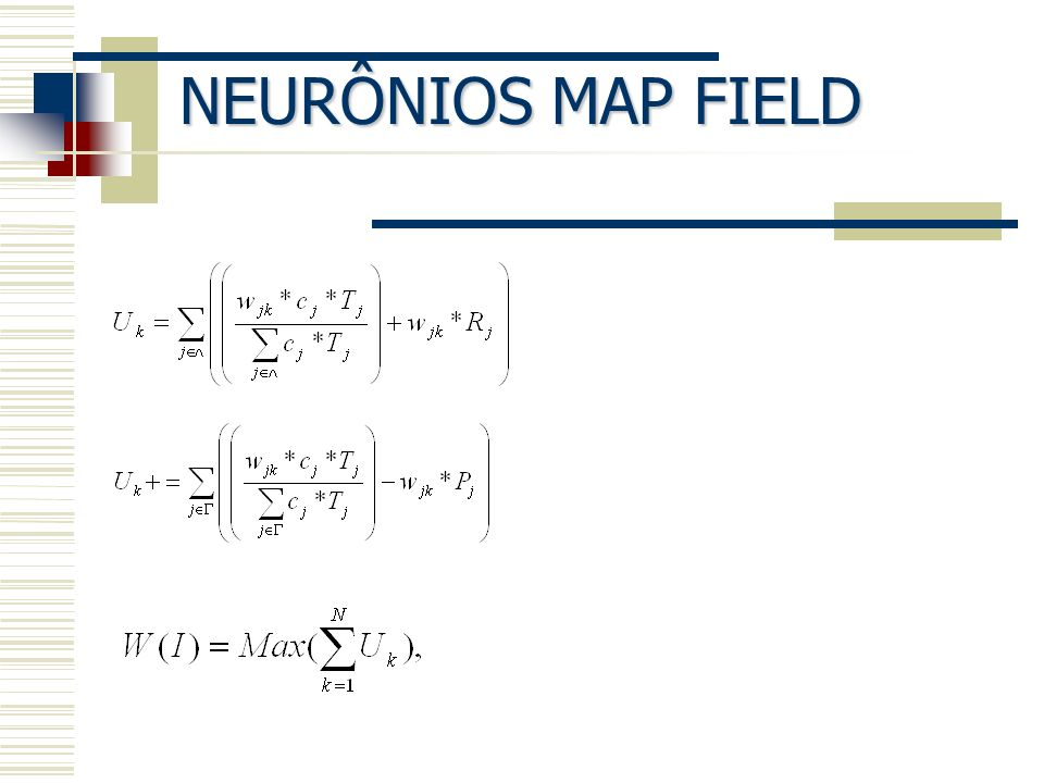 NEURÔNIOS MAP FIELD