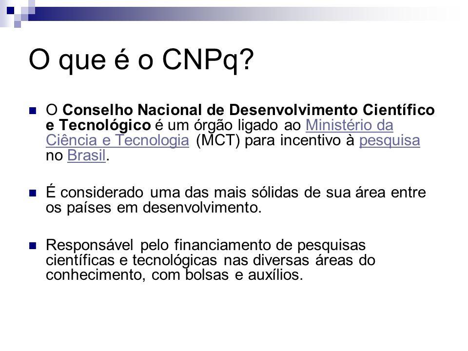 O que é o CNPq