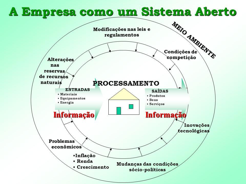 A Empresa como um Sistema Aberto
