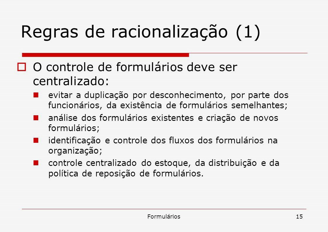 Regras de racionalização (1)
