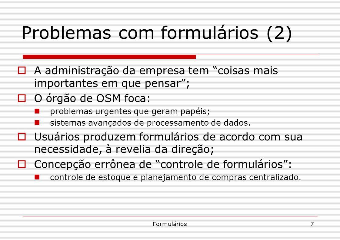 Problemas com formulários (2)