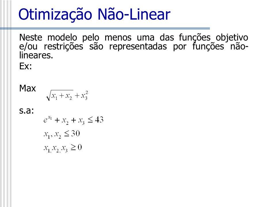 Otimização Não-Linear