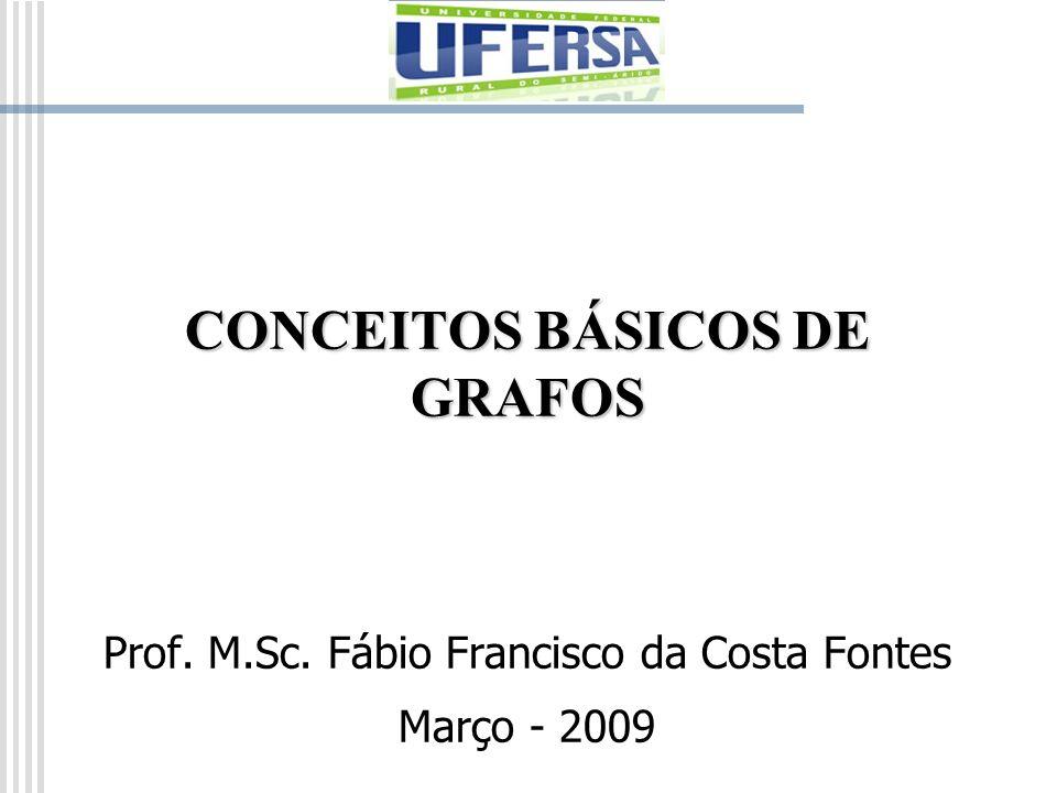 CONCEITOS BÁSICOS DE GRAFOS