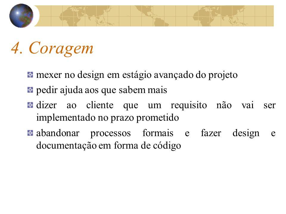 4. Coragem mexer no design em estágio avançado do projeto