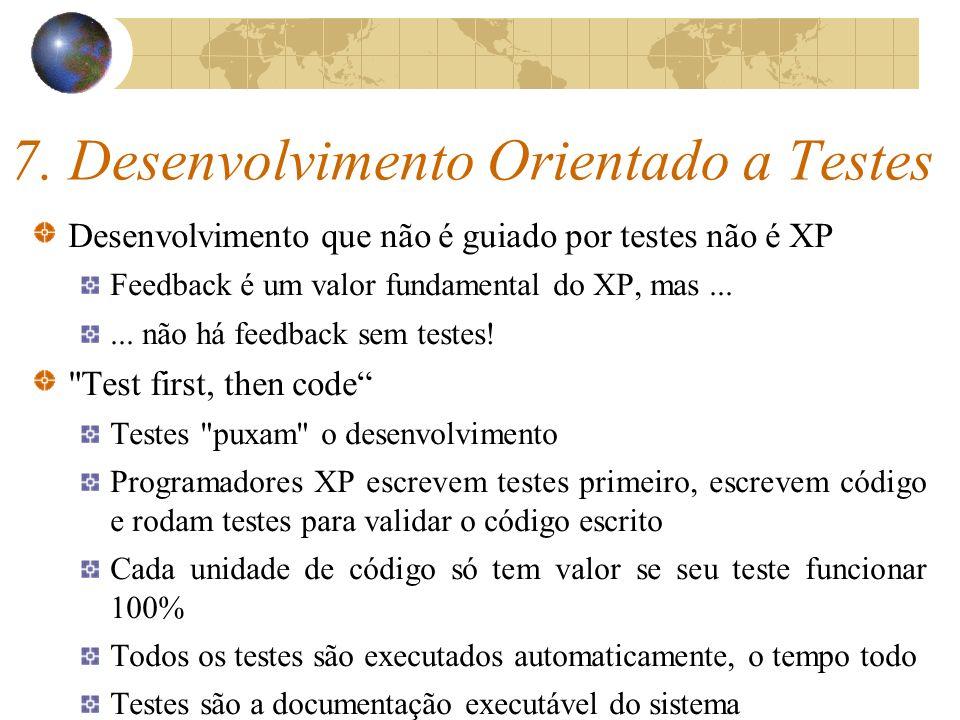 7. Desenvolvimento Orientado a Testes