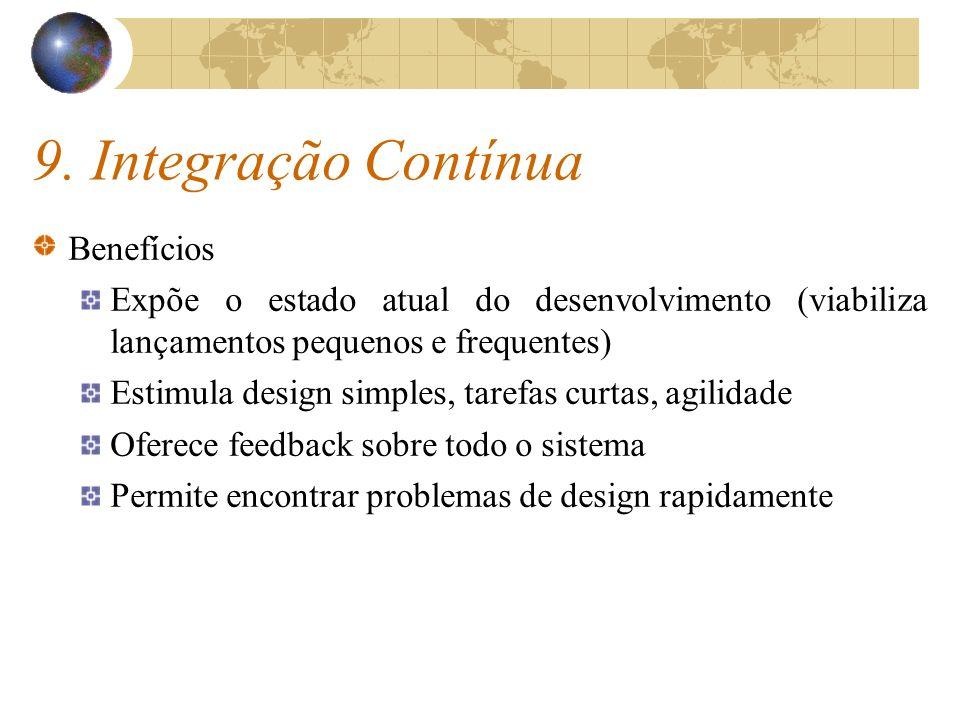9. Integração Contínua Benefícios