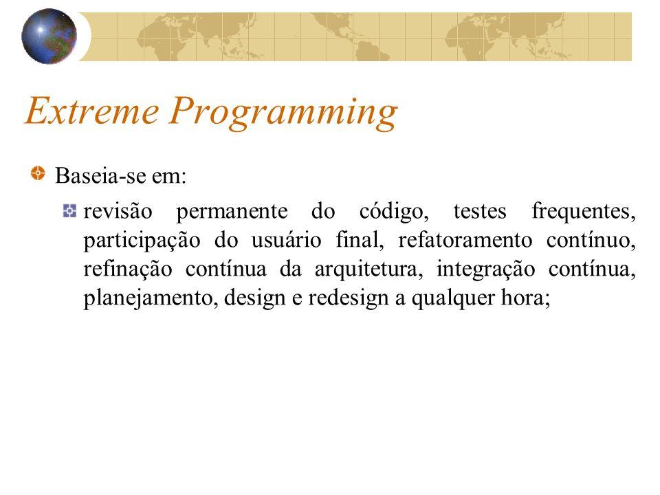 Extreme Programming Baseia-se em:
