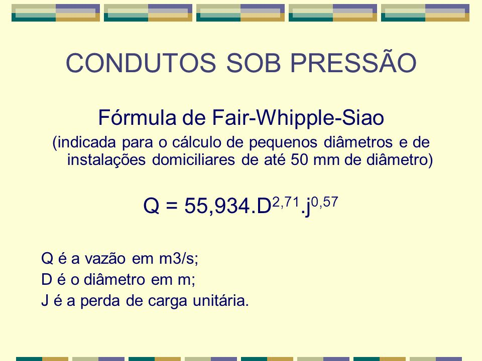Fórmula de Fair-Whipple-Siao