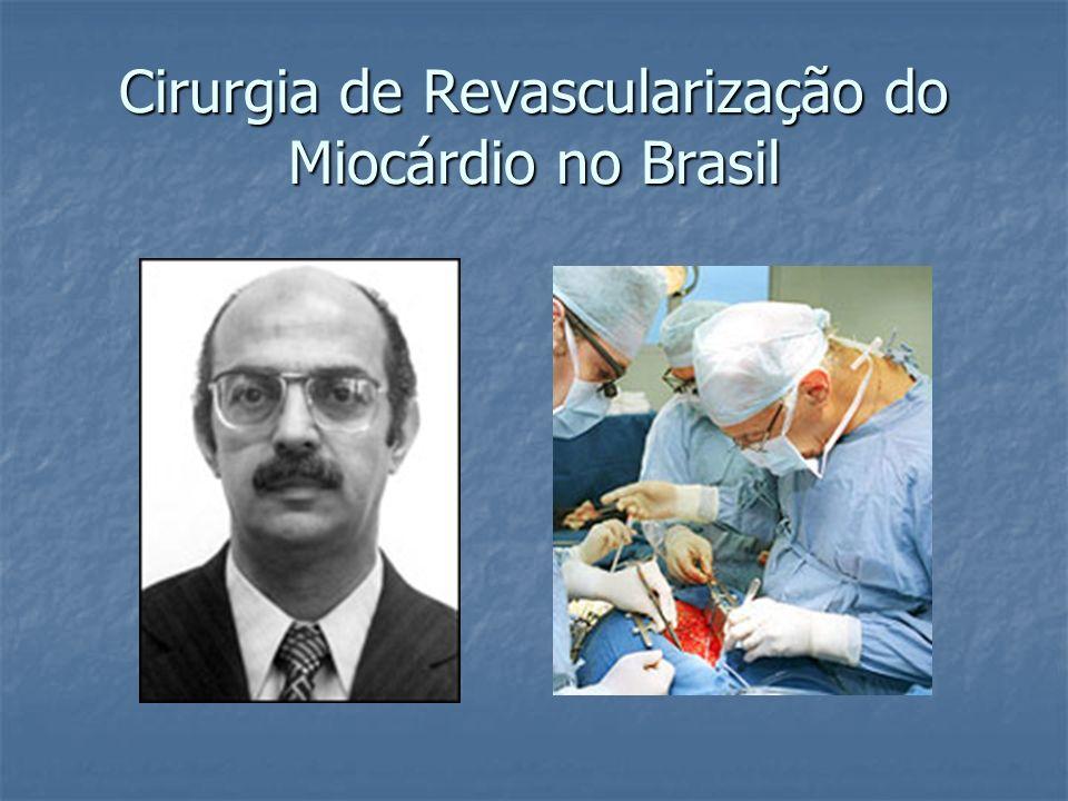 Cirurgia de Revascularização do Miocárdio no Brasil