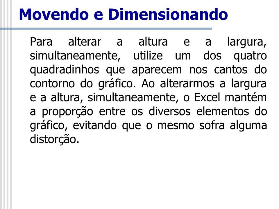 Movendo e Dimensionando