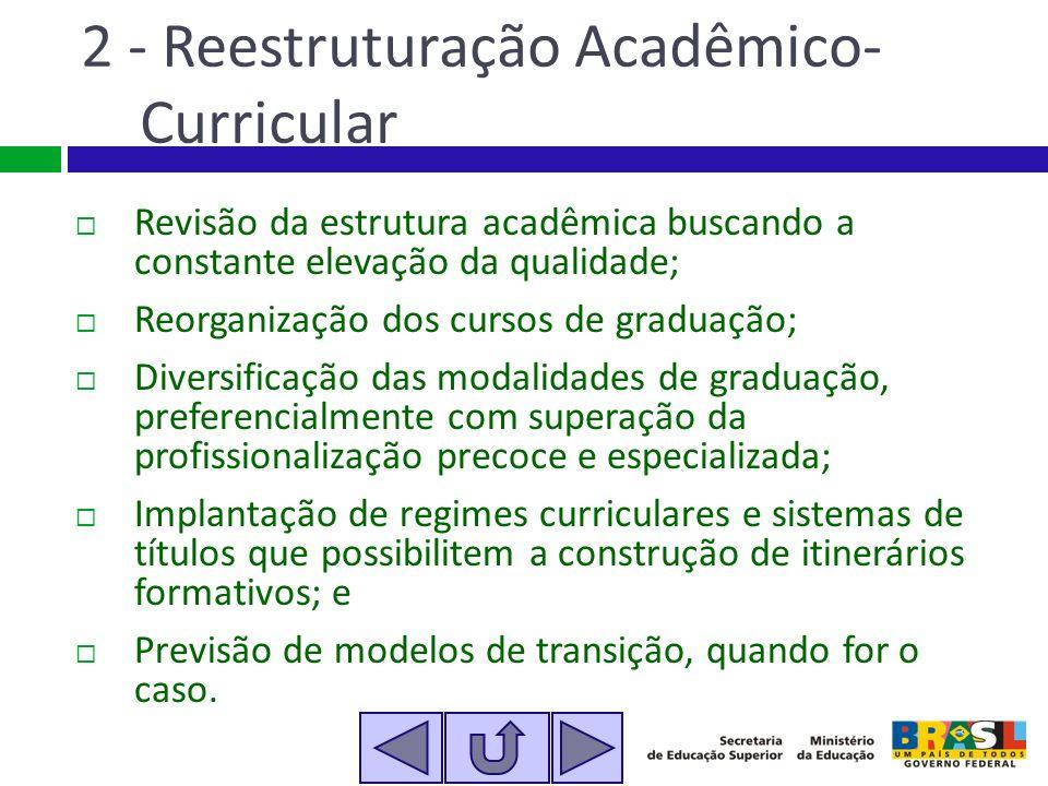 2 - Reestruturação Acadêmico-Curricular