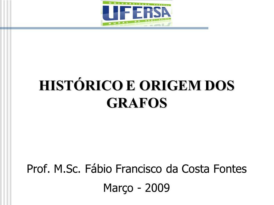 HISTÓRICO E ORIGEM DOS GRAFOS