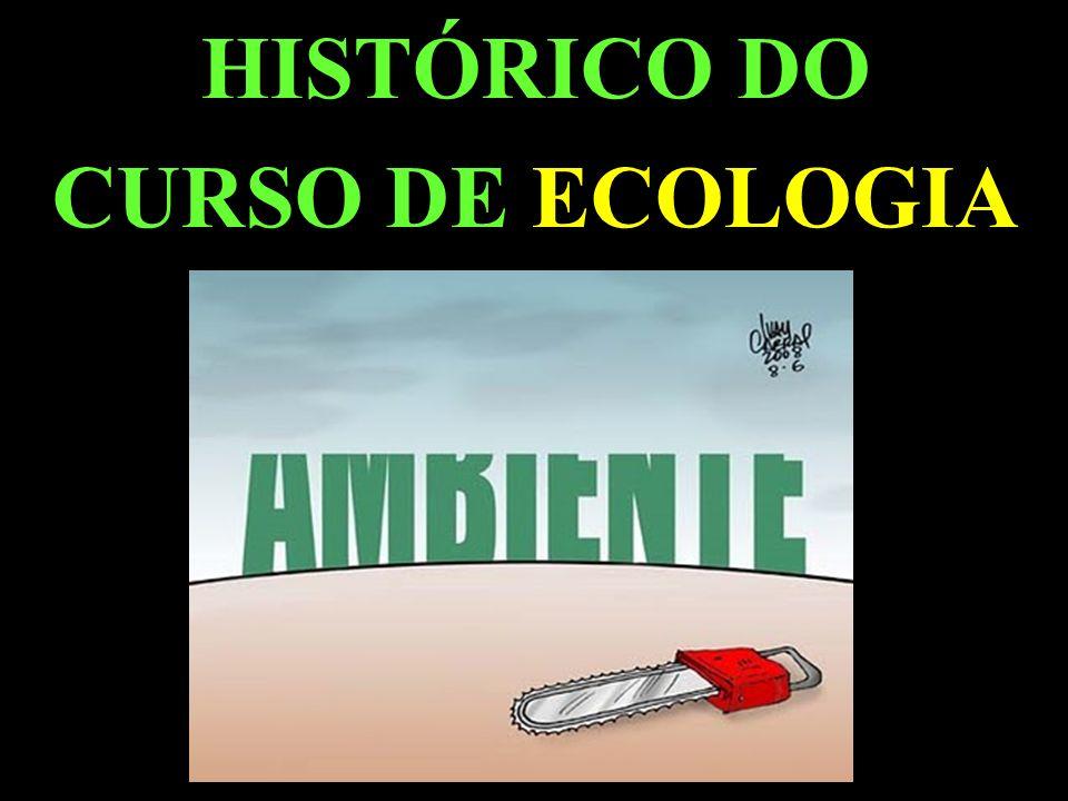 HISTÓRICO DO CURSO DE ECOLOGIA