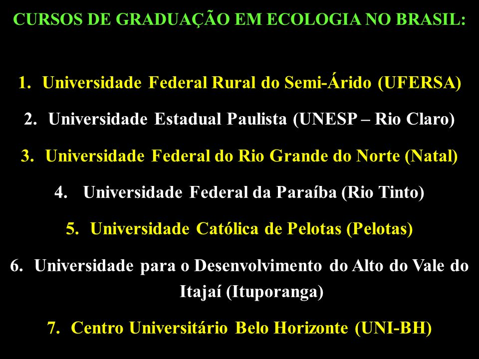 Universidade Federal Rural do Semi-Árido (UFERSA)