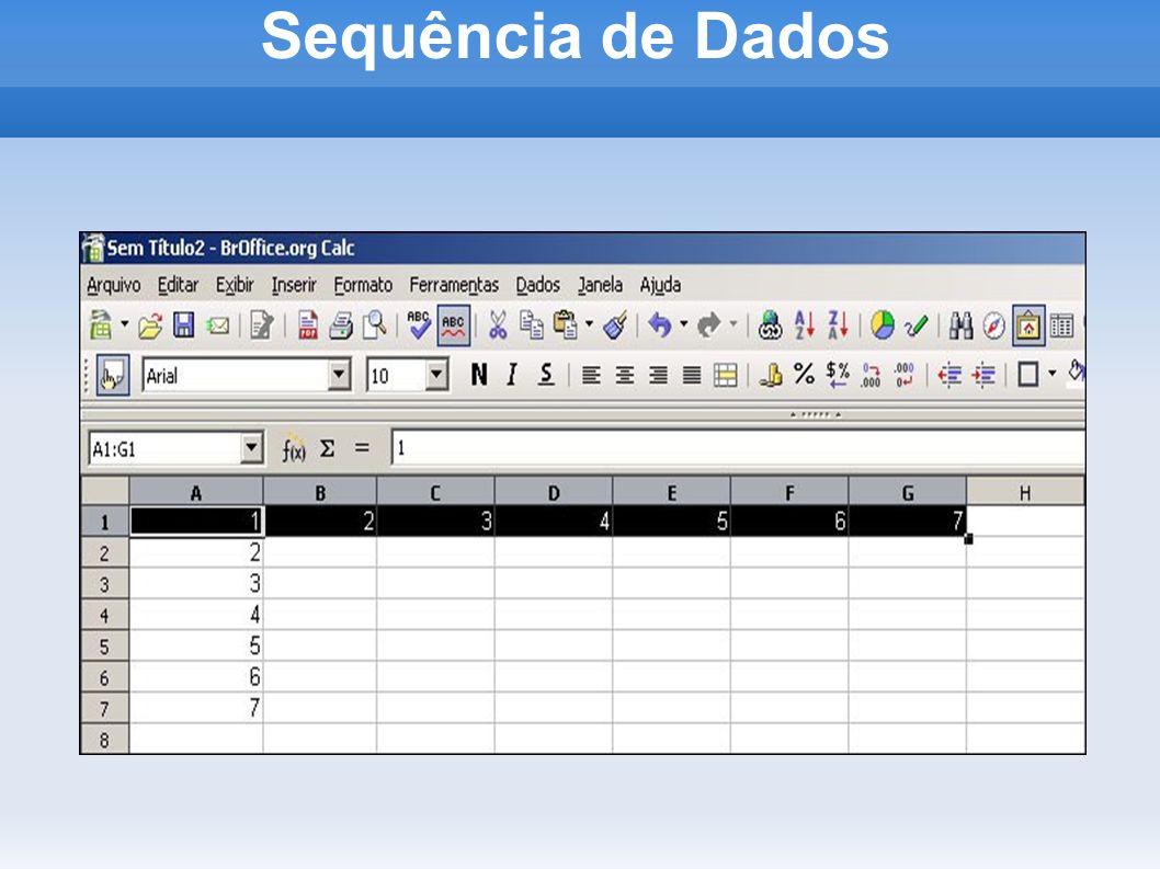 Sequência de Dados