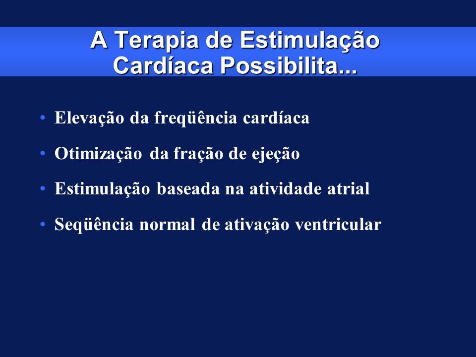A Terapia de Estimulação Cardíaca Possibilita...