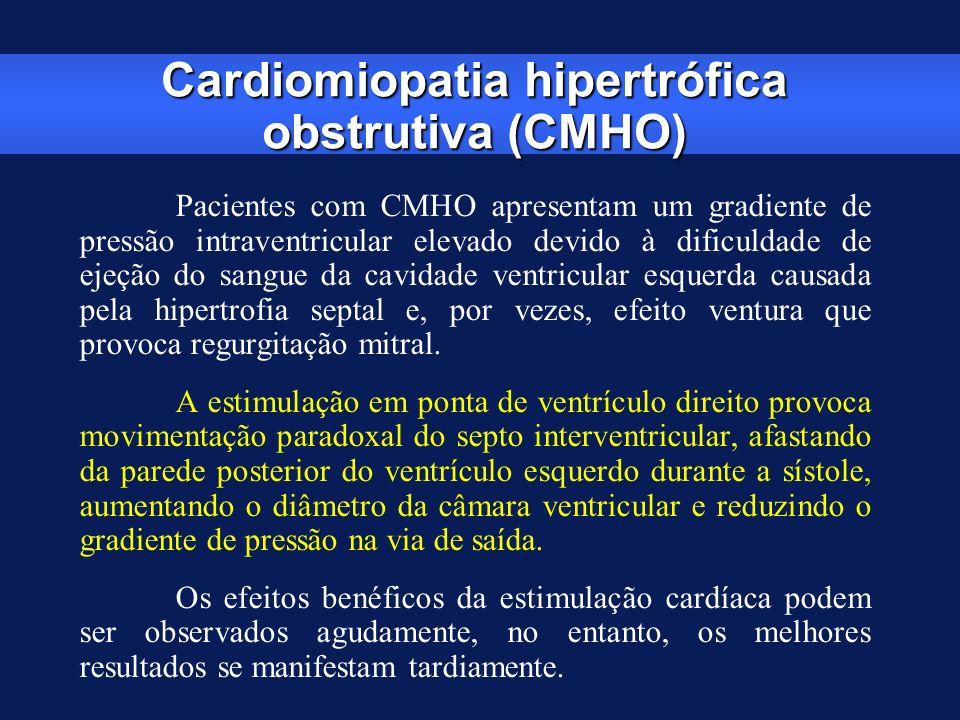 Cardiomiopatia hipertrófica obstrutiva (CMHO)