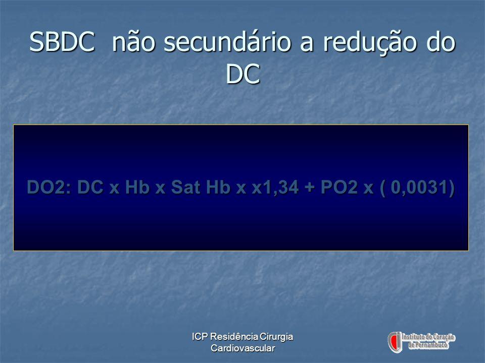 SBDC não secundário a redução do DC