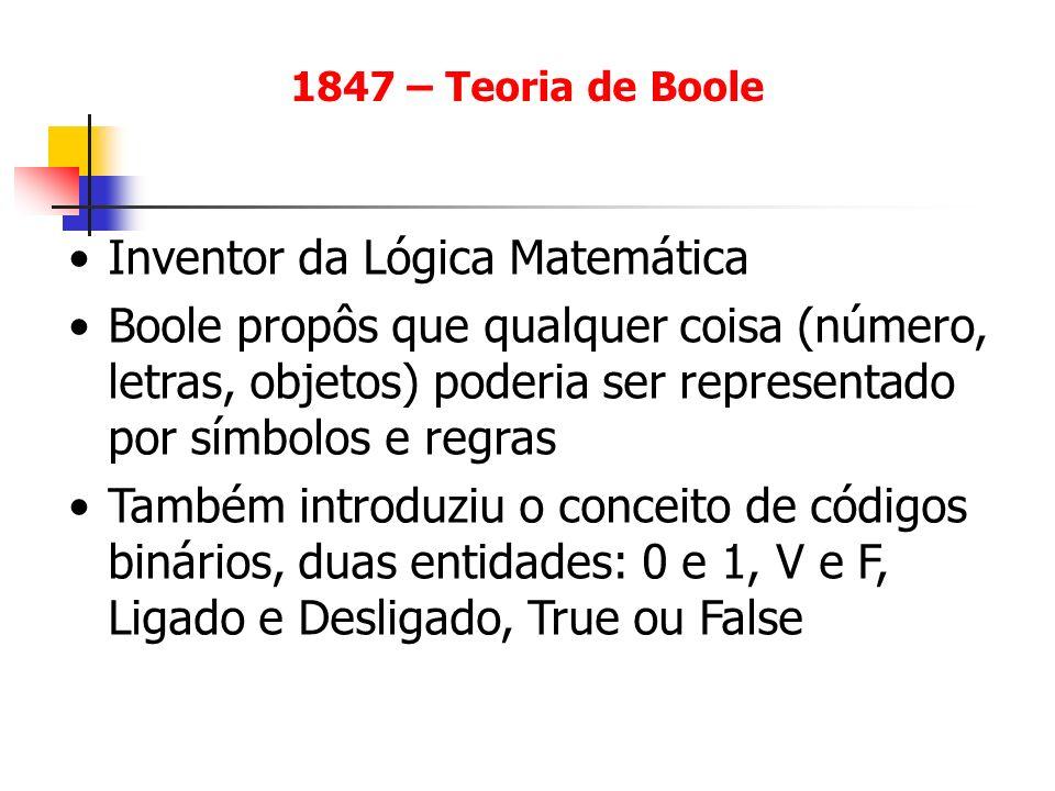 Inventor da Lógica Matemática