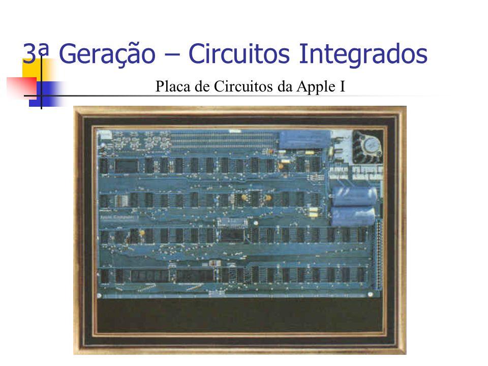3ª Geração – Circuitos Integrados