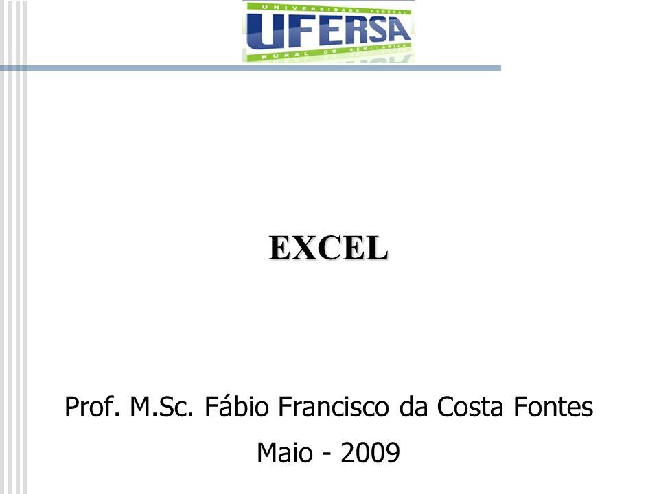 Prof. M.Sc. Fábio Francisco da Costa Fontes Maio - 2009