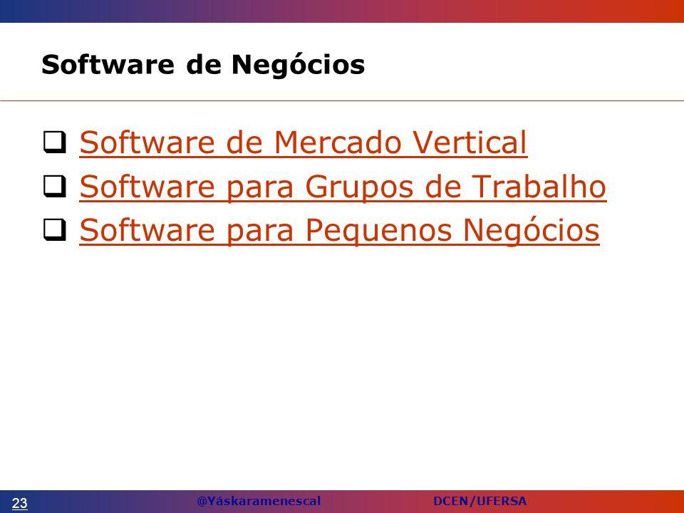 Software de Mercado Vertical Software para Grupos de Trabalho