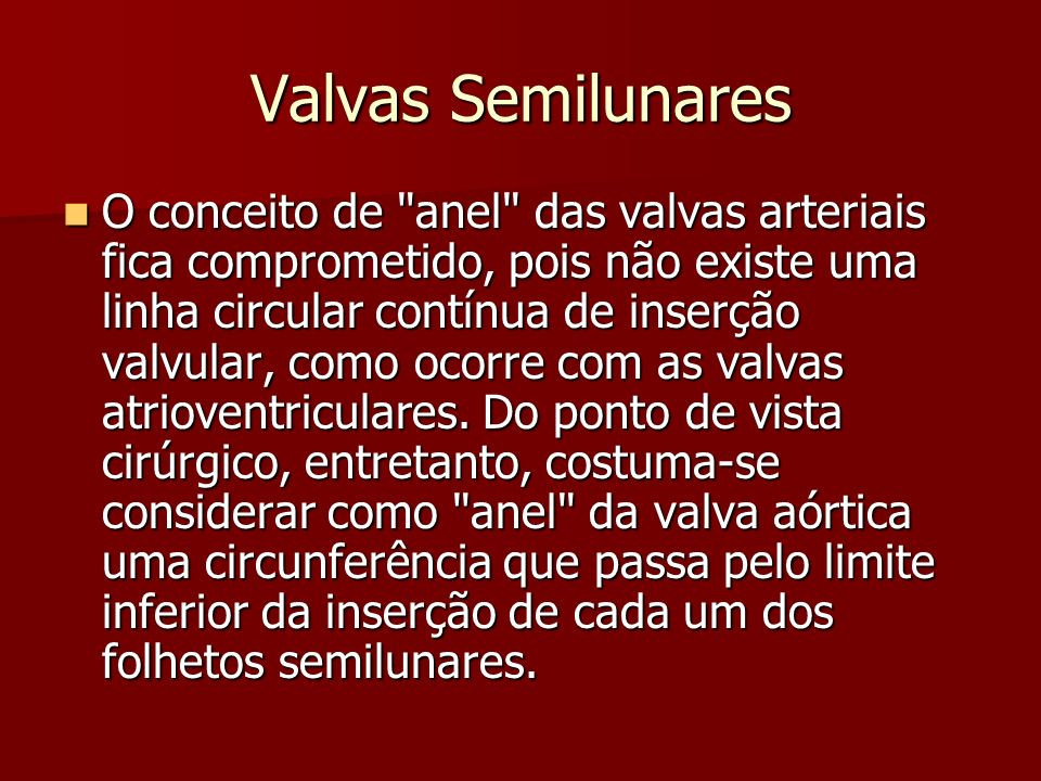 Valvas Semilunares