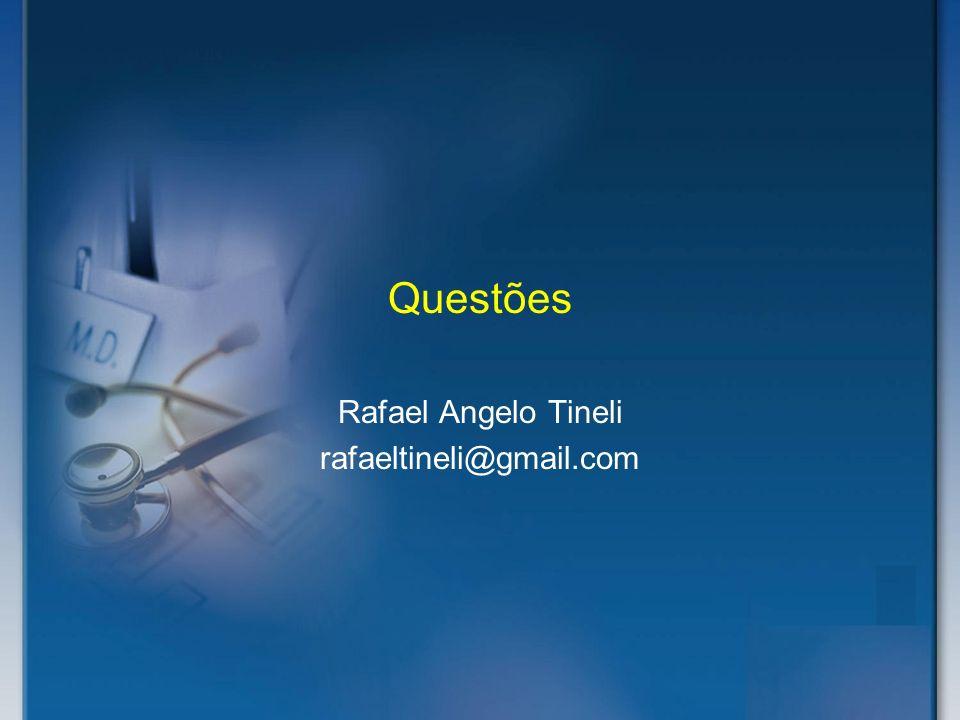 Questões Rafael Angelo Tineli rafaeltineli@gmail.com