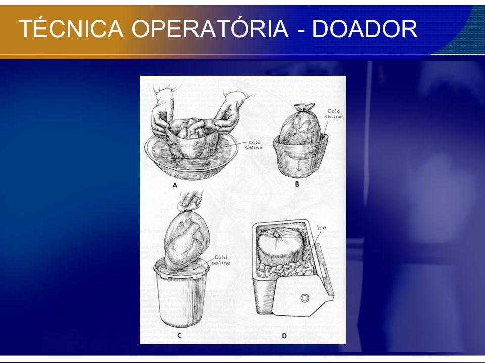 TÉCNICA OPERATÓRIA - DOADOR