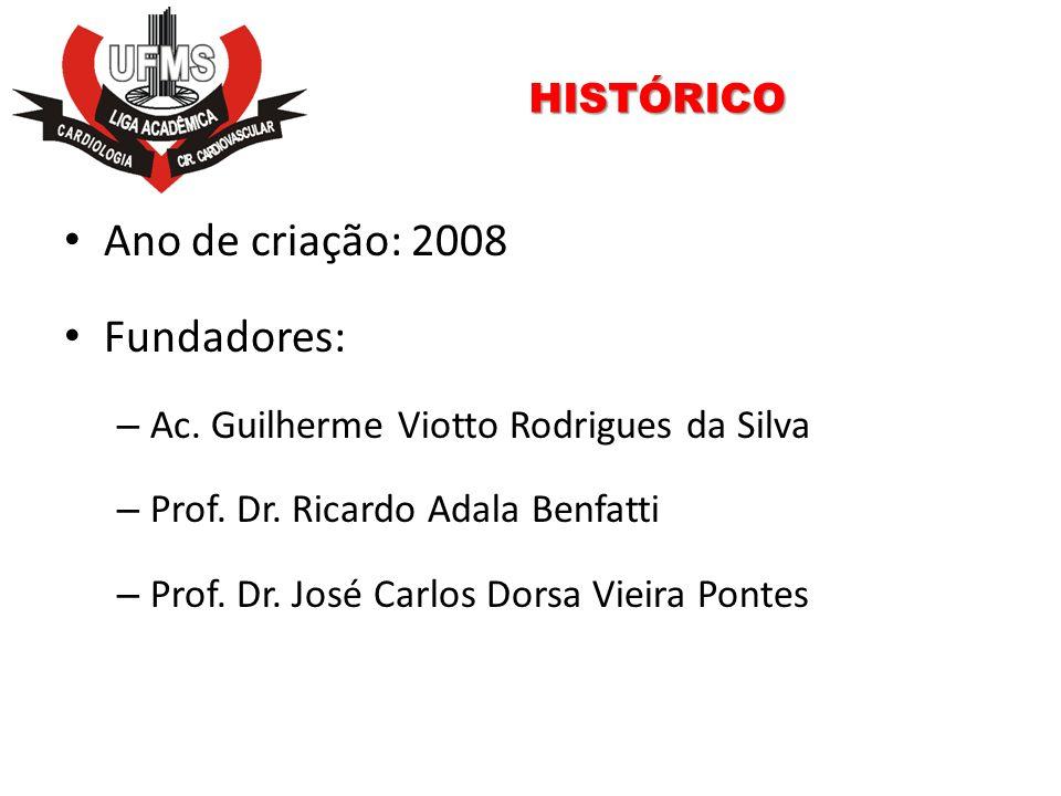 Ano de criação: 2008 Fundadores: HISTÓRICO
