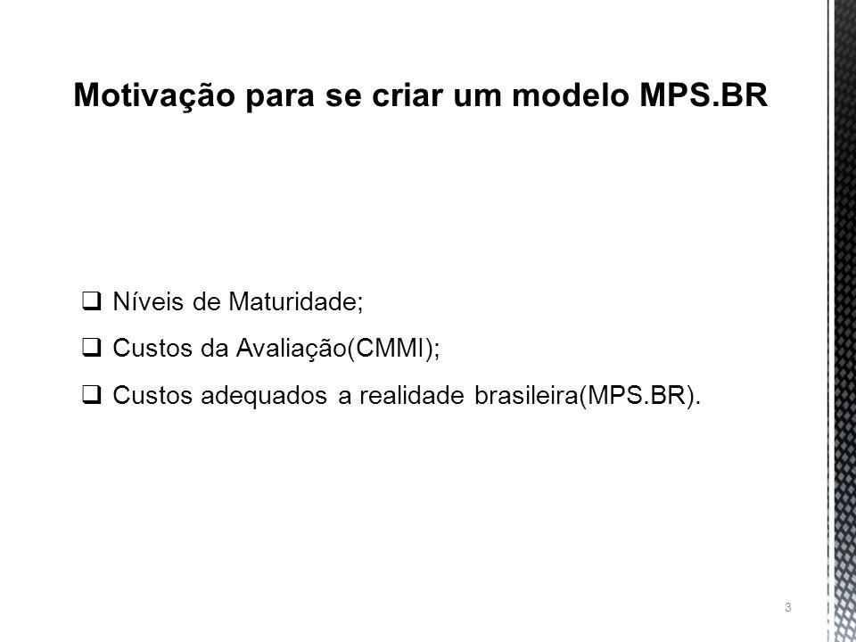 Motivação para se criar um modelo MPS.BR