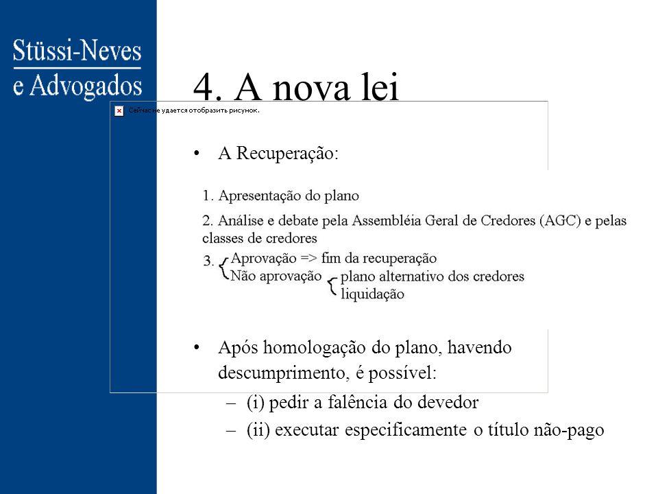 4. A nova lei A Recuperação: