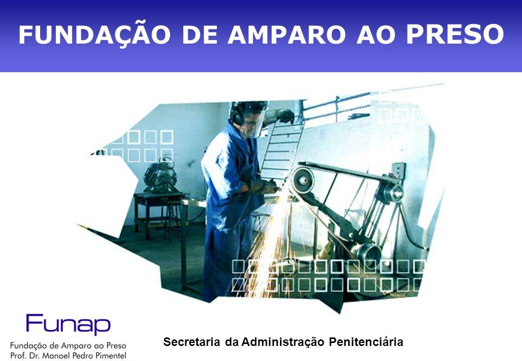 FUNDAÇÃO DE AMPARO AO PRESO Secretaria da Administração Penitenciária