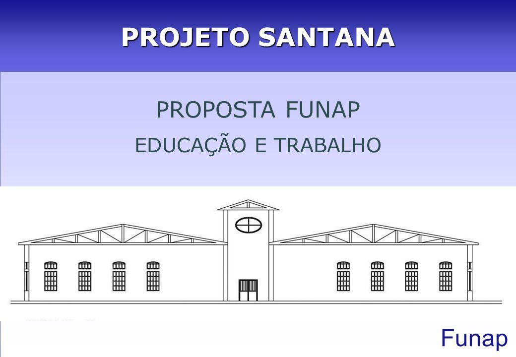 PROJETO SANTANA PROPOSTA FUNAP EDUCAÇÃO E TRABALHO