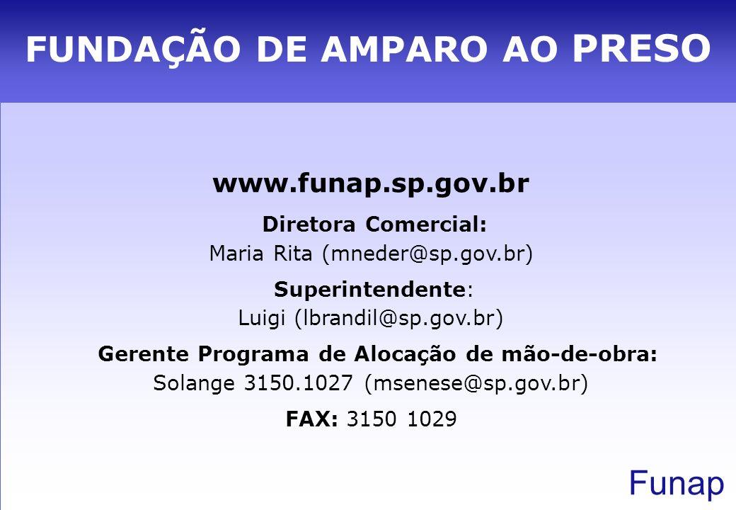 FUNDAÇÃO DE AMPARO AO PRESO