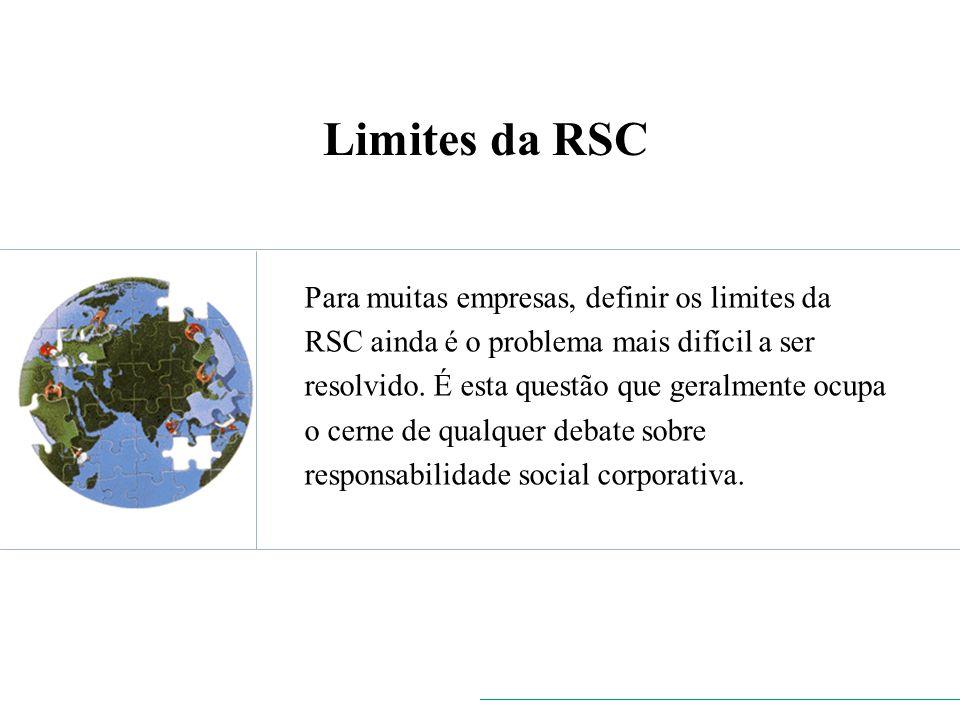 Limites da RSC
