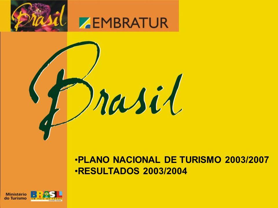 PLANO NACIONAL DE TURISMO 2003/2007