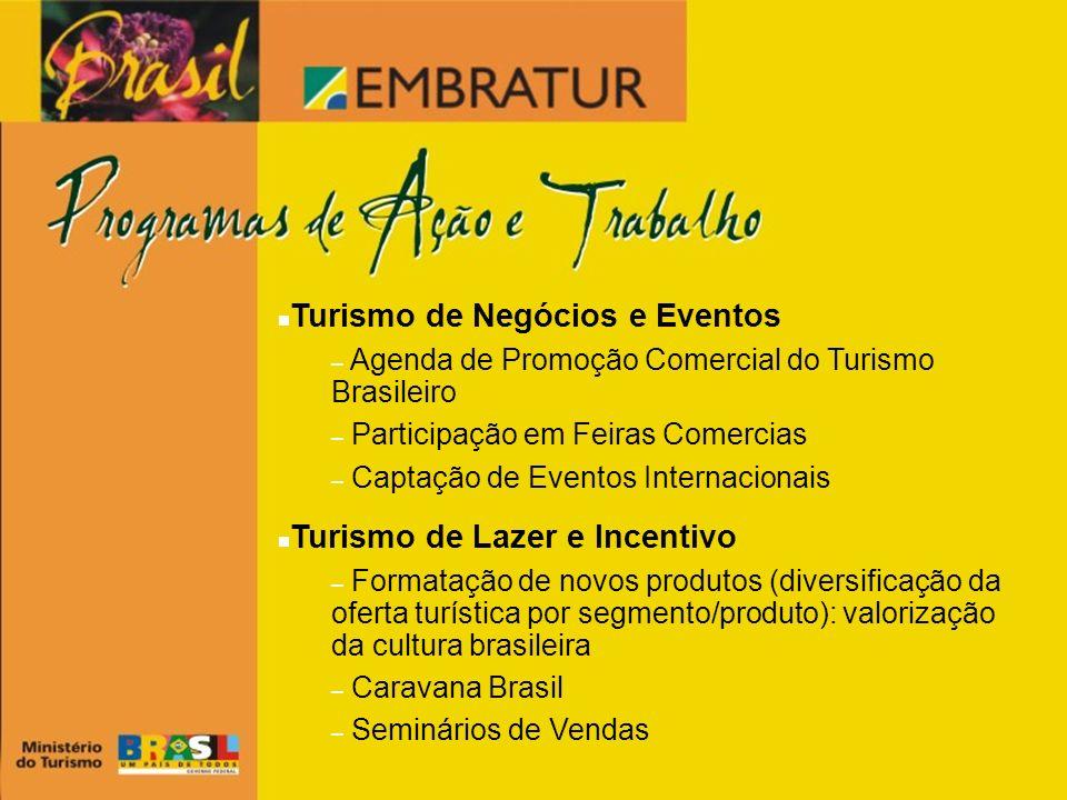 Turismo de Negócios e Eventos
