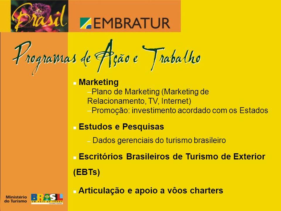 Escritórios Brasileiros de Turismo de Exterior (EBTs)