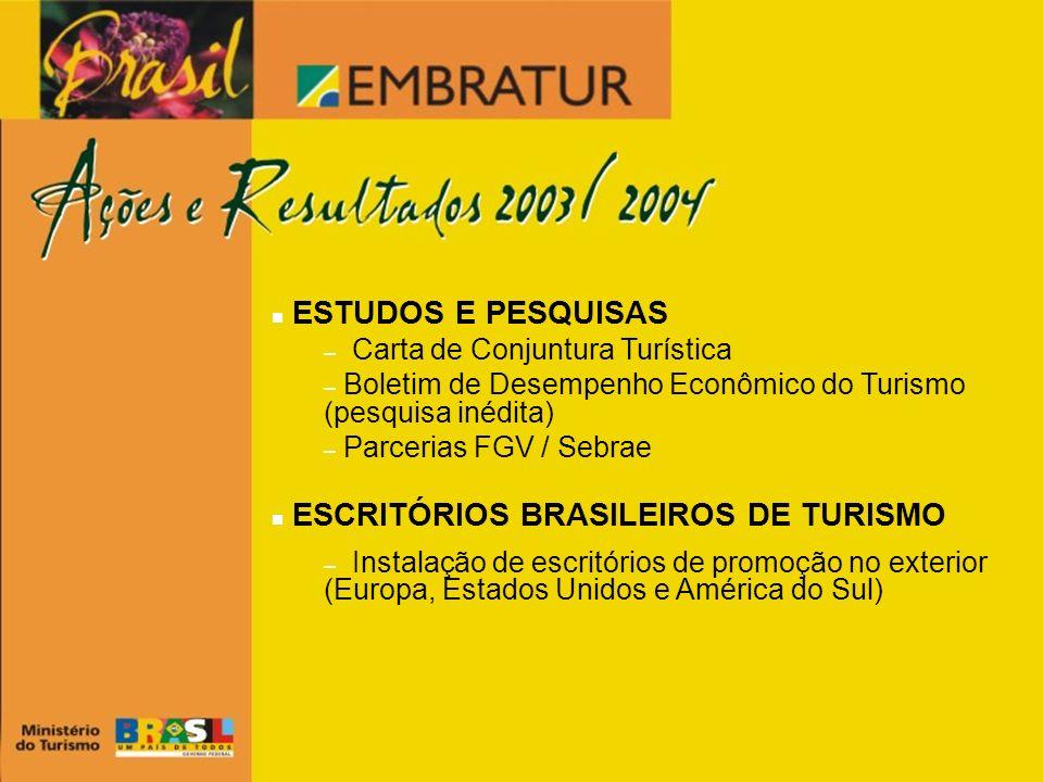 ESCRITÓRIOS BRASILEIROS DE TURISMO