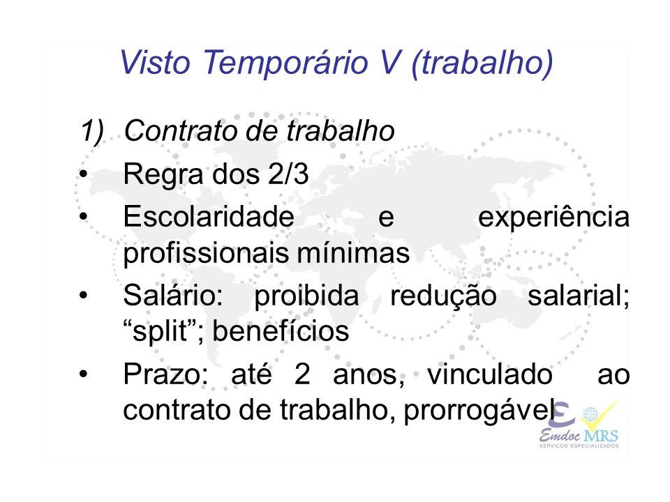 Visto Temporário V (trabalho)