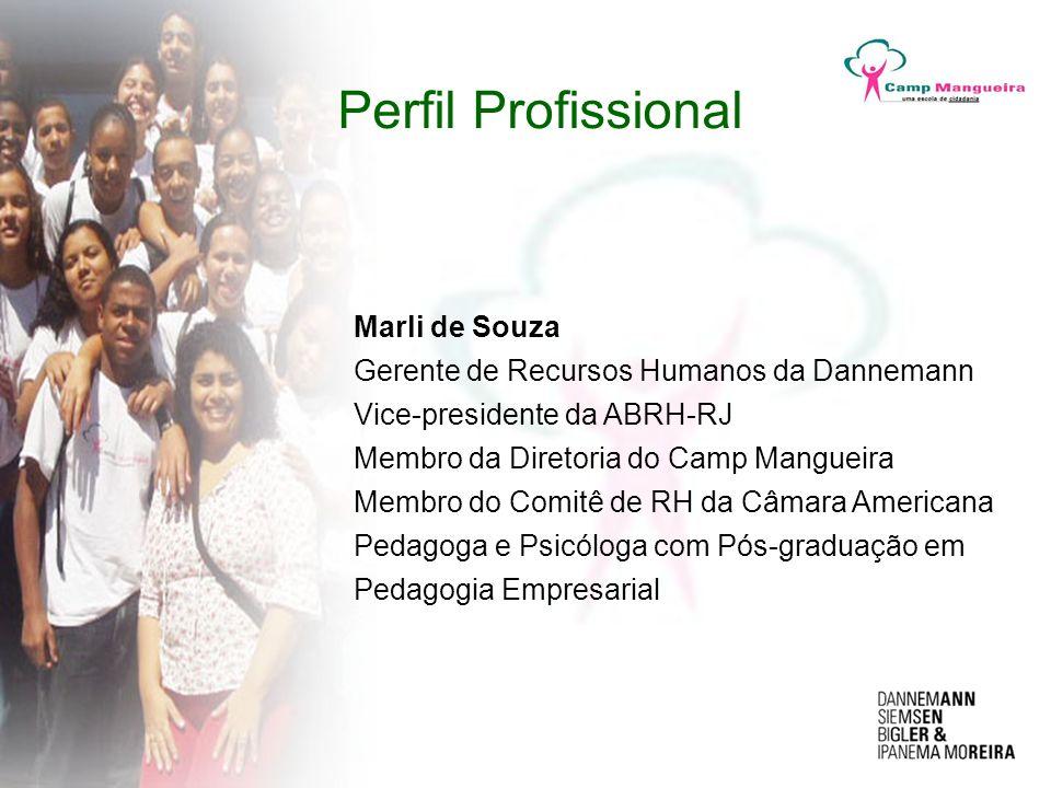 Perfil Profissional Marli de Souza